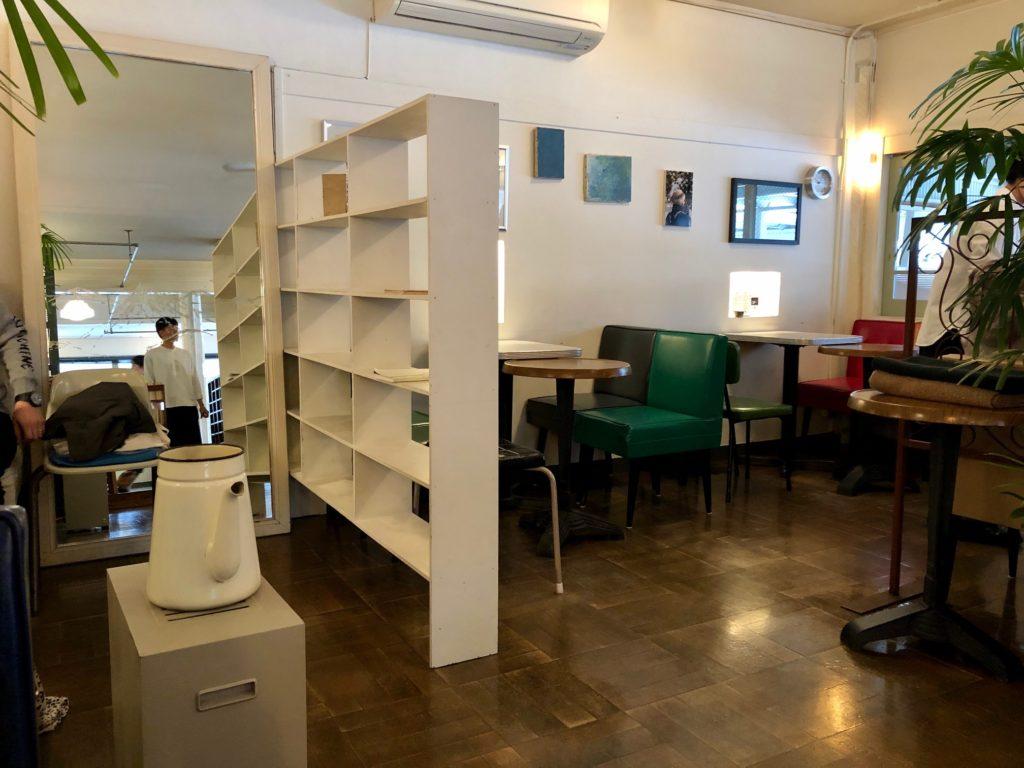 NASU SHOZO CAFEの内観